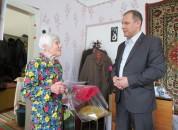 Глава Государственной администрации встретился с ветераном Великой Отечественной войны Н.В. Готко