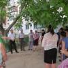 Жители многоэтажных домов села Красная Горка обсудили с главой вопросы ремонта и благоустройства