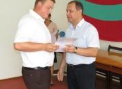В Григориопольской администрации  чествовали лучших представителей трудовых коллективов города и победителей  смотра-конкурса «Любимый город»
