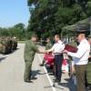 Глава Государственной администрации принял участие в митинге, состоявшемся в Бендерском гарнизоне военной части миротворческих сил  РФ