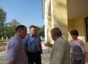 Глава Государственной администрации Григориопольского района и города Григориополь проинспектировал ход ремонтных работ в МОУ «Спейская ОСШ»