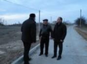Рабочая поездка главы в село Тея