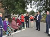 Заместители главы Государственной администрации встретились с инициативной группой жильцов дома №9  ул. Шевченко