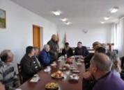 Встреча руководства Государственной администрации с представителями григориопольской общественной организации «Общество слепых»