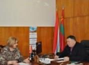 Рабочая встреча главы  с начальником службы социальной помощи на дому одиноким, престарелым и нетрудоспособным гражданам