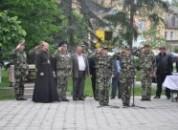 В Григориополе состоялся митинг, посвященный торжественной отправке призывников