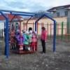 Открытие детской игровой площадки