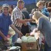 В Григориополе прошла широкая предпраздничная ярмарка