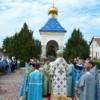 Архиепископ Савва совершил Божественную литургию у часовни в честь иконы Божией Матери «Троеручица» города Григориополь