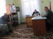 В посёлке Колосово состоялся выездной приём граждан