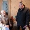 Олег Габужа поздравил ветеранов войны и долгожителей района с наступающим Новым Годом