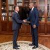 Глава приднестровского государства встретился с Чрезвычайным и Полномочным Послом США в Республике Молдова