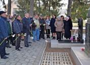 В Григориополе почтили память защитника Отечества Сергея Урсу