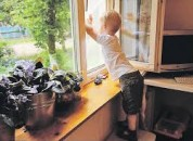 Безопасность детей в многоэтажных зданиях