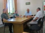 Рабочая встреча в селе Красногорка Григориопольского района
