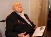 Ветеран Великой Отечественной войны Маслов Егор Иванович принимает сегодня поздравления по случаю своего 100-летия.